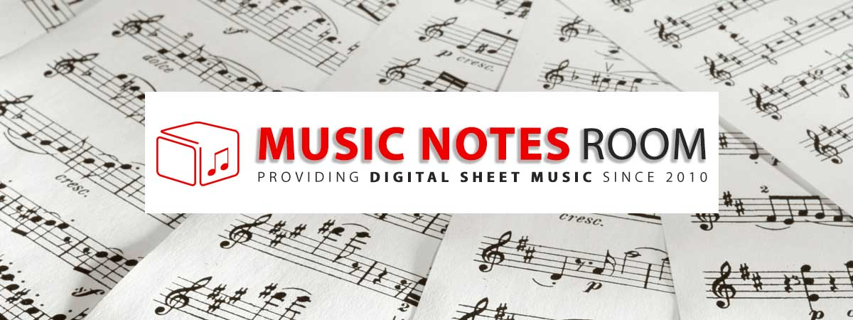Digital Sheet Music Notes and Printable PDF Score
